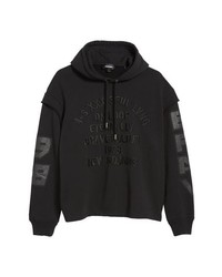 Diesel S Drive Ls Xa Embroidered Hooded Sweatshirt