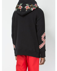 d9ae8649126 ... Gucci Tiger Embroidered Hooded Sweatshirt