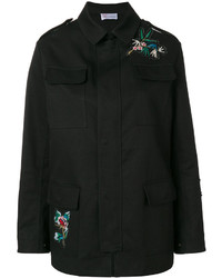RED Valentino Embroidered Cargo Jacket