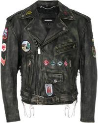 Diesel L Ago Ed Biker Jacket