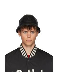 Y-3 Black Logo Bucket Hat