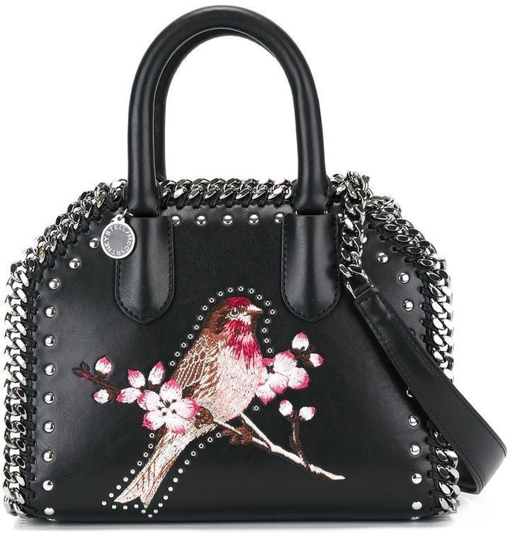 6855c42fde0f8 ... Crossbody Bags Stella McCartney Mini Falabella Box Bird Bag