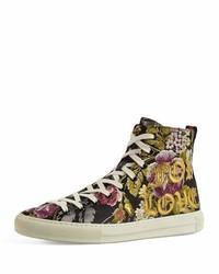 Gucci Major Blind For Love High Top Sneaker Black