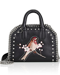 Stella McCartney Embroidered Satchel