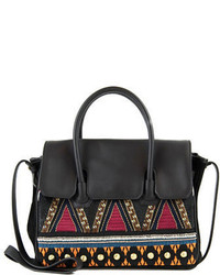 Sam Edelman Sylvia Tribal Embroidered Satchel