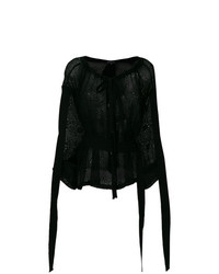 Ann Demeulemeester Handembroidered Blouse