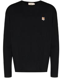 MAISON KITSUNÉ Logo Patch Long Sleeve T Shirt