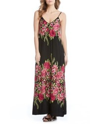 Floral embroidered maxi dress medium 5170504
