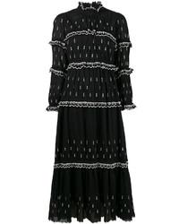 Isabel marant toile arrow embroidered maxi dress medium 4395640