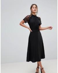 Liquorish A Line Midi Dress