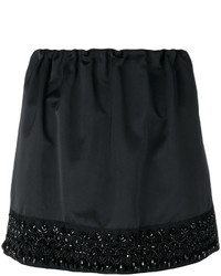 No.21 No21 Bead Embroidery Mini Skirt