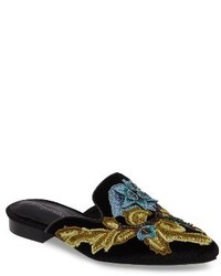 Jeffrey Campbell Cls Applique Loafer Mule