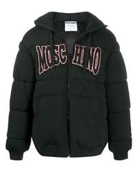 Moschino Logo Patch Padded Jacket