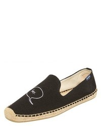 Soludos X Ashkhan Embroidered Espadrilles