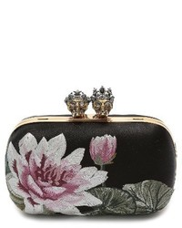 9b90bafdc3cf Alexander McQueen Crystal Embellished Heart Satin Knuckle Clutch Out of  stock · Alexander McQueen Queen King Embroidered Satin Clutch None