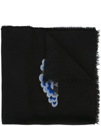 Kenzo Embroidered Detail Scarf