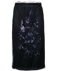 No.21 No21 Sequin Embroidery Skirt