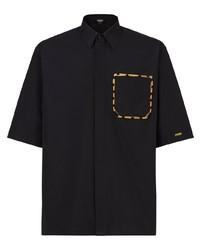 Fendi Chest Pocket Short Sleeve Shirt