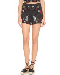 J.o.a. Embroidered Shorts