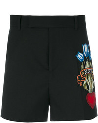 Gucci Embroidered Tailored Shorts