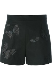 Valentino Butterfly Embroidered Shorts