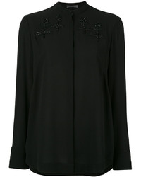 Alexander McQueen Embroidered Blouse