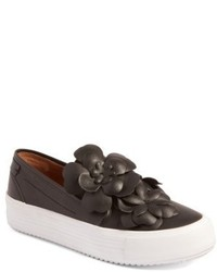 See by Chloe Vera Floral Applique Slip On Sneaker