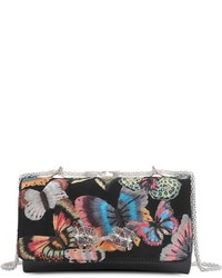 Valentino Embroidered Butterfly Vavavoom Clutch