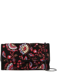 Loeffler randall floral embroidered clutch medium 847698