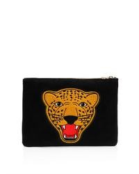 Varsity suede clutch medium 35462