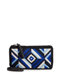 Mercado Global Isa Woven Crossbody Bag