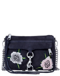 Rebecca Minkoff Mac Mini Embroidered Crossbody Bag