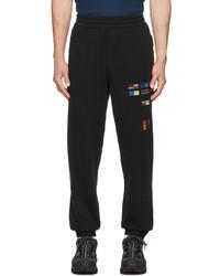 Burberry Black Ibraheem Lounge Pants