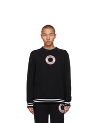 Burberry Black Albany Sweatshirt