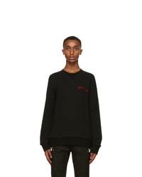 Alexander McQueen Black Sweatshirt