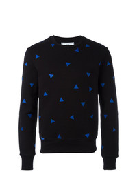 AMI Alexandre Mattiussi Sweatshirt With Triangle Embroidery
