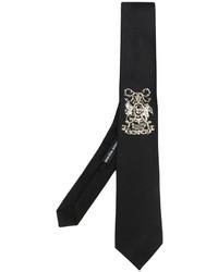 Alexander McQueen Embroidered Tie