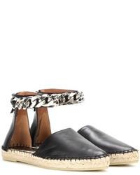 Givenchy Capri Chain Leather Espadrilles