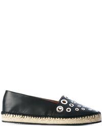Givenchy Grommet Embellished Espadrilles