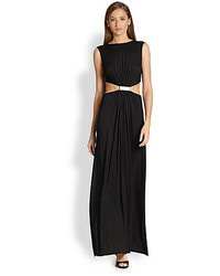 Yigal Azrouel Cut25 By Cutout Gathered Gown