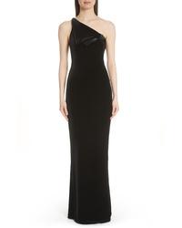 Emporio Armani One Shoulder Gown