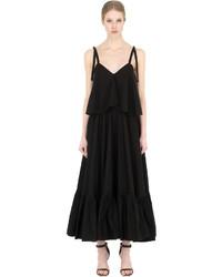 Salvatore Ferragamo Ruffled Cotton Poplin Dress