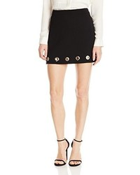 Rebecca Minkoff Eden Eyelets On Twill Grommet Detail Aline Skirt