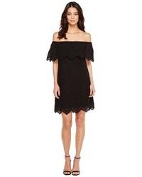 Kensie Petal Eyelet Off Shoulder Dress Ks6k993s Dress