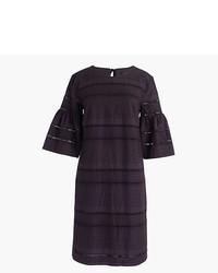 Tall flutter sleeve shift dress in eyelet medium 3672176