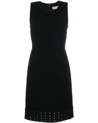 Emilio Pucci Shift Eyelet Dress