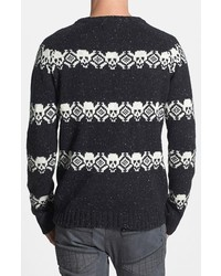 Deus Ex Machina Skull Fair Isle Sweater | Where to buy & how to wear