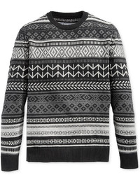 American Rag Fair Isle Crew Neck Sweater