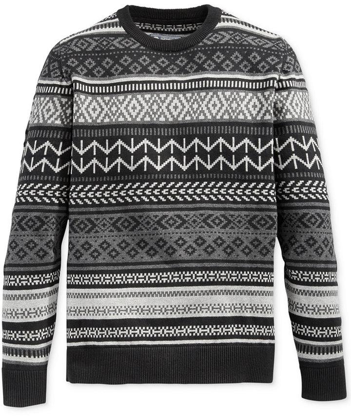 American Rag Fair Isle Crew Neck Sweater | Where to buy & how to wear