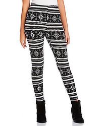 Fair isle print sweater leggings medium 123975